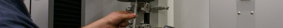 Kalibrierung einer Prüfmaschine